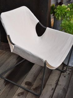 Canvas Chair Cover | Remodelista