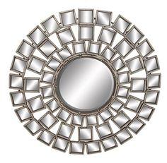 Mirror, Mirror Abstract Metal Wall Mirror