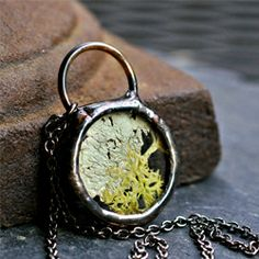 In honor of Earth Day/Week, here's a handful of beautiful terrarium necklaces.