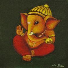 Baby Ganesha - Asha Sudhaker Shenoy