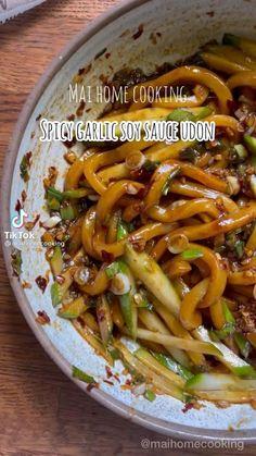 Veggie Recipes, Vegetarian Recipes, Dinner Recipes, Cooking Recipes, Healthy Recipes, Noodle Recipes, Good Food, Yummy Food, Asian Cooking