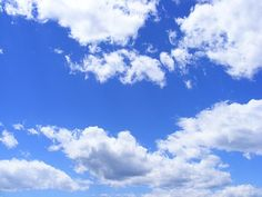 Blue, Clouds, Day, Fluffy, Sky