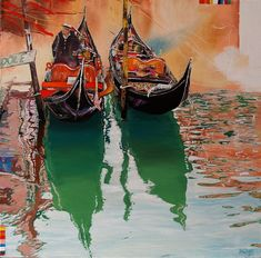 Dariusz Żejmo is an Polish painter, known for working in the Fantasy Figurative style. For biographical notes -in english and italian- and other works by Żejmo see Dariusz Żejmo, 1966 Watercolor Pictures, Watercolor Art, Pretty Pictures, Cool Photos, Venice Painting, Italian Beauty, Urban Sketching, Venice Italy, Figurative Art