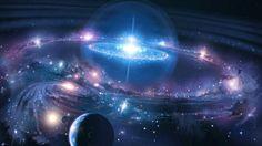Sparkling Blue Universe HD Irresistible Wallpaper High Definition Wallpaper