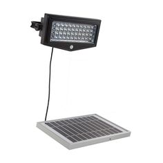 O421 - 10W SOLAR PIR SECURITY LIGHT Solar, Light Fixture