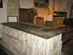 Tomb of Thomas Boleyn, Father of Anne Boleyn, at St. Peter's Church, Hever, Kent