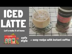 Davidoff instant espresso ICED LATTE / how make a iced cafe latte Espresso Recipes, Coffee Recipes, Dessert Drinks, Desserts, Hot Sauce Recipes, Iced Latte, Cafe Style, Instant Coffee, Coffee Drinks
