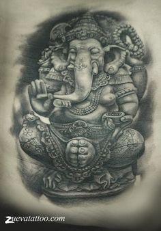 Картинки по запросу ганеша татуировка