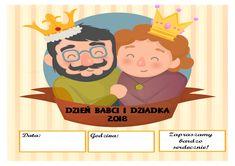 Szablony Babci i Dziadka - Pani Monia Family Guy, Education, School, Kids, Fictional Characters, Aga, Young Children, Boys, Children