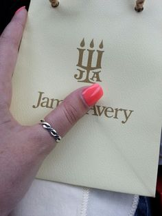 New james avery ring.