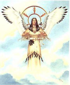 White Buffalo Calf Woman Wakan Tanka, world spirit of the Sioux religion.jpg
