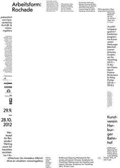 Typo-Plakate von Zwölf