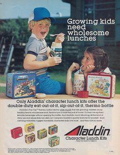 Aladdin Lunchbox Ad, 1983