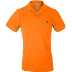 1d20f395c21 Lyle   Scott Club Pique Short Sleeved Polo Shirt - Neon Orange