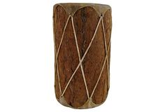 Tree Bark African Drum, Zoos, Tree Bark, Drums, Room Ideas, Living Room, Drum Sets, Sitting Rooms, Drawing Room