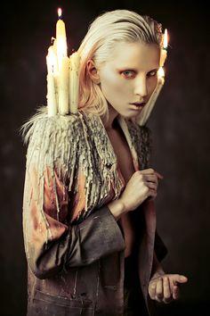 """Burning"" | Model: Elena Mitinskaya, Photographer: Ekaterina Belinskaya , 2013"