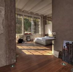 <p>Built in 1926 and located close to Lake Como, in northern Italy. This gorgeous 270 square meters loft was kept in its original form and holds many of its owner own artwork. Architect and artist Marco Vido has been content with small steps to make it into his dream apartment. Brick walls and windows are…</p>