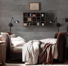 Wood Curio Case | Wall Storage | Restoration Hardware Baby & Child