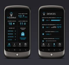 InControl design contest - Design home automation app to control lights Mobile app design #69 by Momchil.Jambazov