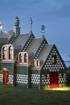 These Stunning Images Of A Funky Real-Life Dollhouse Will Rock Your World