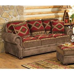 Cabin Queen Sofa Sleeper By Rowe. See More. Northern Trails Bear Queen  Sleeper