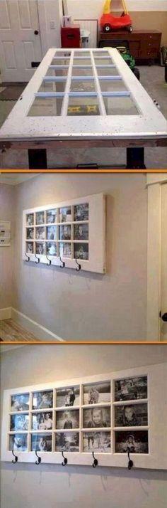 17 Cool DIY Home Decor Picture Frames https://www.futuristarchitecture.com/28698-diy-home-decor-picture-frames.html #DIYHomeDecorFrames