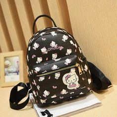 Home Spirited Harajuku Style Paillette Handwork Kawaii Girls Backpack Cute Anime Sailor Moon Doll Rabbit Ears Shoulder Bag Tassels Pendant Bag Durable Service
