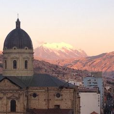 The view out of Namita's window in Bolivia is nothing short of magnificent!