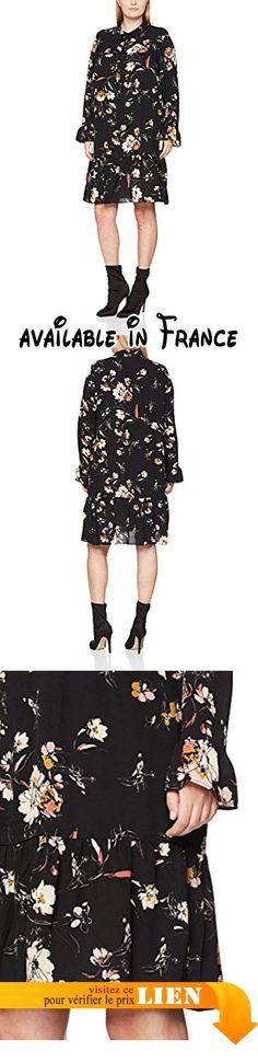 B076159T71 : Studio Untold Bedrucktes Kleid Robe Femme Mehrfarbig (Multicolor 90) 50.