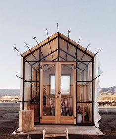 """12.8k Likes, 39 Comments - designboom magazine (@designboom) on Instagram: """"on of the shelton huts that guests can rent to stay for the night on #airbnb located in new cuyama…"""""""