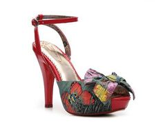 Poetic Licence All Tied Up Sandal; Red or Blue; Compare at $98 - $69.95