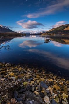 Beautiful in Blue - Loch Linnhe in the Highlands of Scotland