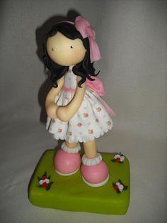fun foam little girl doll (photo only)