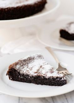 Gluten Free Dairy Free Chocolate Olive Oil Cake recipe