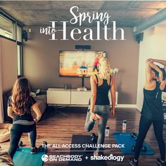 Is this an April Fools joke? NOPE!!  ♀️ 'Spring into Health' with the Annual All-Access Beachbody On Demand and Shakeology Challenge Pack, is NOW only $160USD/$186CAD for the month of April. ♀️  At this special price, you receive a 'daily dose of dense nutrition' with Shakeology®, and a year's-worth of the best fitness programs on the market, for only $30 more!   Message me for more info at the link in my profile!! Don't miss this! ✔️  Marina