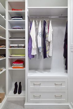 Shophouse design | Small master closet design