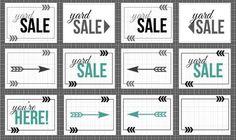 yard sale signs -ttaj                                                                                                                                                      More