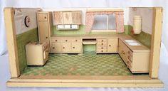 diePuppenstubensammlerin: Puppenküche - 1957 Paul Hübsch - kitchen