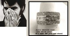 Q to Priscilla: - Charlie Hodge's book said you lost your diamond ring while… Elvis Presley Priscilla, Elvis Presley Family, Graceland, Beautiful Voice, Beautiful Men, Old School Wedding, Elvis Wedding, Elvis Memorabilia, Before Wedding