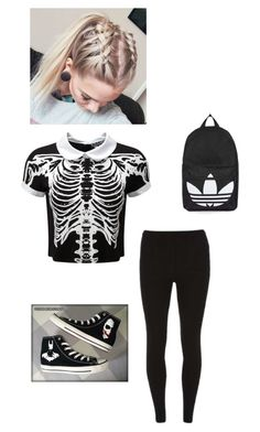 """""""Hanging out with Justin Blake and his Boyfriend Reagan"""" by sillydilly-1 ❤ liked on Polyvore featuring Killstar, Dorothy Perkins, Converse and Topshop"""