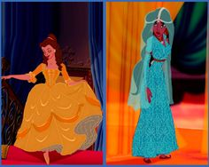 Historically accurate Belle and Jasmine