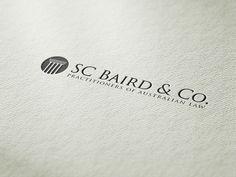 Lawyer Logo Concept by Harriet Bodkin, via Behance