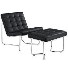 Godit Lounge Chair Black