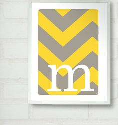 use the crop letter so cool scrapbook papers and decopage the letters frame and tada monograms for the room!
