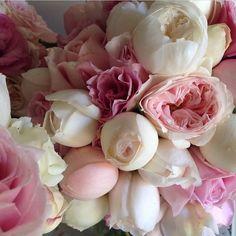 Peonies. Pasel flowers.
