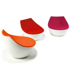 Fun Lounge Chairs christophe pillet - nouvelle vague chair | italy and armchairs