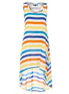 Blue/Yellow stripey dress - For Kilee, Ashland and Savannah too!