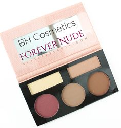 Review: BH Cosmetics Forever Nude Sculpt & Glow Contouring Kit | Slashed Beauty