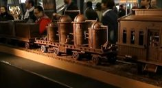 World's Longest Chocolate Train - DesignTAXI.com