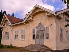 Old railwaystation of Putikko located in Punkaharju, Finland. Nowdays there is a potter´s workshop.